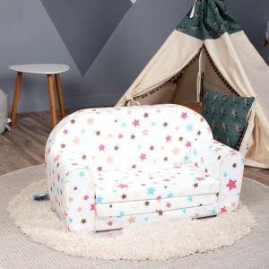 Minkštos vaikiškos sofos
