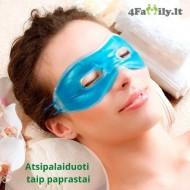 Atpalaiduojanti gelinė paakių kaukė