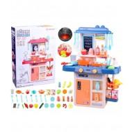 """Vaikiška žaislinė virtuvėlė """"Modern Kitchen"""" didelis rinkinys"""