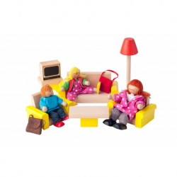 Lėlių namo baldai