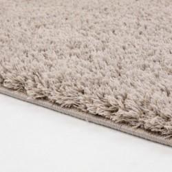 Ilgo plauko smėlio spalvos vaikiškas kilimas -