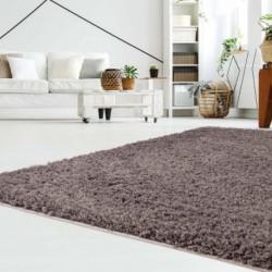 Ilgo plauko rudas vaikiškas kilimas -