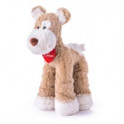 Minkštas pliušinis šuniukas terjeras  / 37 cm