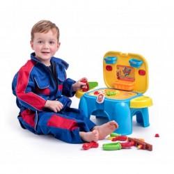 Vaikiška įrankių dėžė - kėdė