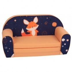 Oranžinė sofutė -