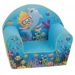 Mėlynas fotelis -