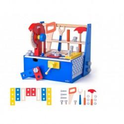 Medinis meistro įrankių rinkinys dėžėje 3+